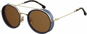 amazon.de Carrera męskie okulary przeciwsłoneczne 167/S wielokolorowe (Blue Gold) 50