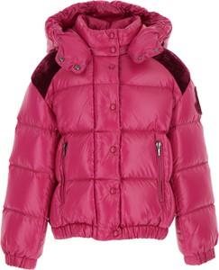 Różowa kurtka dziecięca Moncler