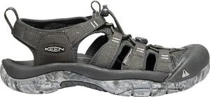 Czarne sandały Keen w stylu casual