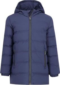 Niebieska kurtka dziecięca Emporio Armani