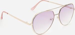 Fioletowe okulary damskie Reserved