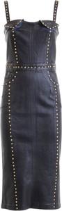 Sukienka Versace Jeans na ramiączkach