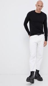 Czarny sweter Tom Tailor w stylu casual z jedwabiu
