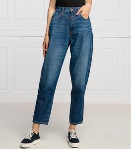 Niebieskie jeansy Pepe Jeans w stylu casual z jeansu