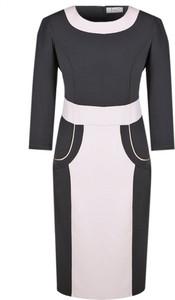 Sukienka Fokus ołówkowa midi z bawełny