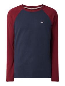 Koszulka z długim rękawem Tommy Jeans z długim rękawem z bawełny