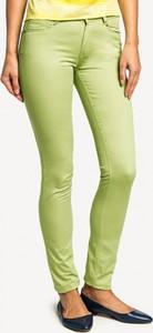Zielone spodnie POTIS & VERSO z bawełny