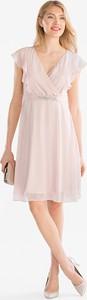 Sukienka YESSICA rozkloszowana mini z szyfonu