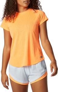T-shirt New Balance z okrągłym dekoltem w sportowym stylu