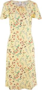 Sukienka bonprix bpc bonprix collection z okrągłym dekoltem