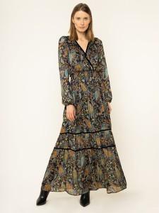 Sukienka Liu-Jo z dekoltem w kształcie litery v maxi