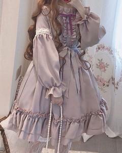 Różowa sukienka Kendallme z długim rękawem