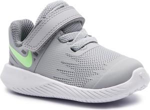 Buciki niemowlęce Nike na rzepy ze skóry