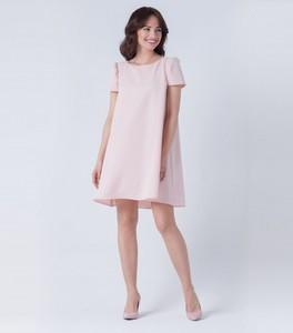 Sukienka butik-choice.pl z okrągłym dekoltem