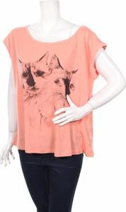 Bluzka Belair z okrągłym dekoltem w młodzieżowym stylu