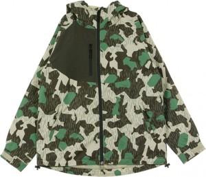 Zielona kurtka HUF krótka