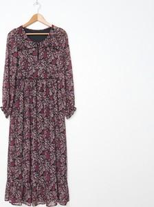 Sukienka House z długim rękawem maxi