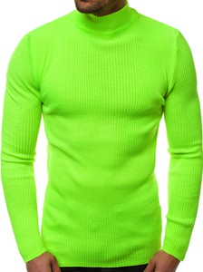 Zielony sweter ozonee.pl w stylu casual