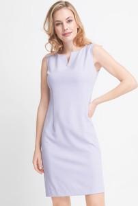Fioletowa sukienka QUIOSQUE mini