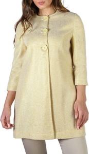 Żółty płaszcz Fontana 2.0 z bawełny