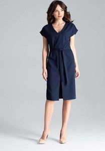 Sukienka Katrus z krótkim rękawem midi