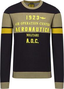 Sweter Aeronautica Militare z bawełny w młodzieżowym stylu