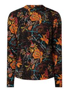 Bluzka Only z okrągłym dekoltem z długim rękawem
