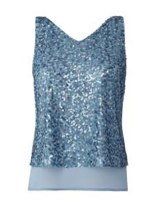 Bluzka Esprit z szyfonu w stylu glamour