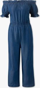 Niebieski kombinezon CLOCKHOUSE z długimi nogawkami