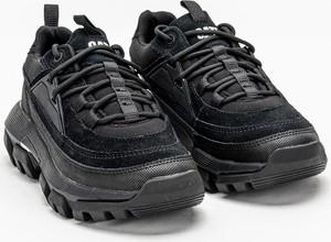 Buty sportowe Caterpillar ze skóry z płaską podeszwą