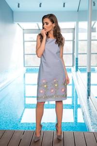 Sukienka Veva z bawełny midi