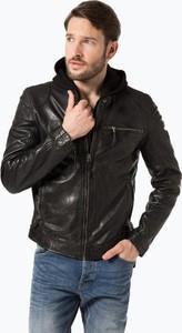 Gipsy - męska kurtka skórzana – arek 3, czarny