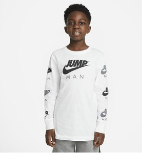 Koszulka dziecięca Nike z długim rękawem dla chłopców