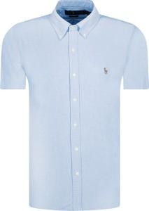 Koszula POLO RALPH LAUREN z krótkim rękawem z kołnierzykiem button down w stylu casual