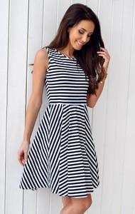 9dcdfafc45 sukienka w marynarskim stylu. - stylowo i modnie z Allani