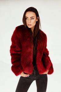 Czerwona kurtka Smoke Furs