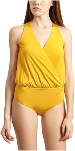 Żółty strój kąpielowy Albertine
