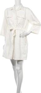 Sukienka Levis mini z kołnierzykiem koszulowa