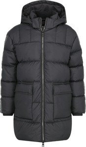 Czarna kurtka dziecięca Calvin Klein z jeansu