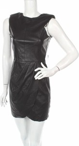 Sukienka ZARA mini z okrągłym dekoltem bez rękawów