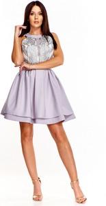 Sukienka QUARELLE mini bez rękawów