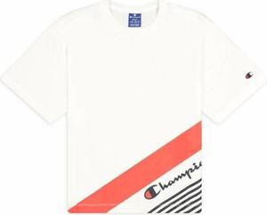 T-shirt Champion z okrągłym dekoltem w sportowym stylu z krótkim rękawem