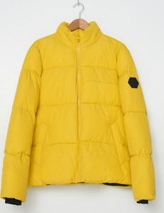 Żółta kurtka House krótka w stylu casual