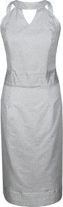 Sukienka Fokus bez rękawów ołówkowa midi