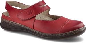 Sandały Helios z płaską podeszwą z klamrami