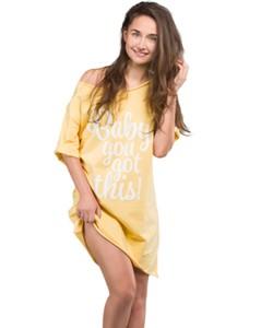 Pomarańczowa piżama bodyboom