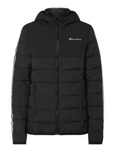 Czarna kurtka Champion krótka w stylu casual