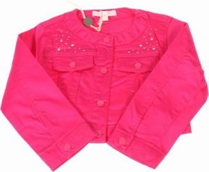 Różowa kurtka dziecięca Silvian Heach