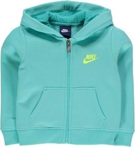 Miętowa bluza dziecięca Nike