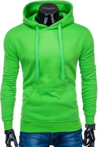 Zielona bluza Edoti w stylu casual